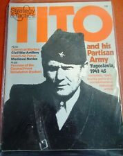 STRATEGY & TACTICS 81- TITO PARTISAN ARMY YUGOSLAVIA 1941-45 Game-New/UNPUNCHED