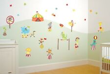 FunToSee Mr Giggles Circus Wall Decals, Circus Theme