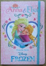 Disney Frozen *Anna & Elsa* Notizbuch * liniert *Rosa* Glitzer* Neu*OVP