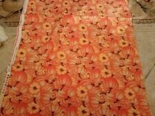 Pumpkins   100% cotton.  Sold by the half yard