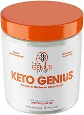 Keto Genius (Bhb Exogenous Ketones + Nootropics) Energy, Brain Fuel w/ Alpha Gpc