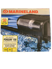 MARINELAND PENGUIN 150B BIO-WHEEL AQUARIUM POWER FILTER