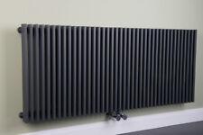 Designheizkörper Designer Heizung Vertikal 500x1200 mm Grau