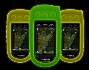 Garmin Green  Protective Glow in the Dark Gel Silicon Cover for Astro 320 GVDS