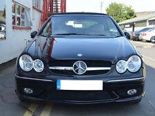 Mercedes W209 CLK CLK200 CLK280 CLK320 CLK55 Single Slat grille grill Black AMG
