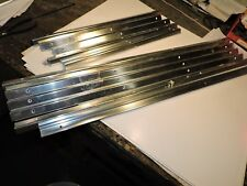 """NEW C-Tech aluminum corner trim pieces thick 34"""" and 19 3/4"""" long cabinet tool"""