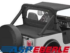 Heckabdeckung Duster capote Softtop Black Denim Jeep Wrangler YJ Bj. 87-91