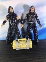 Braun Strowman Set of 4 WWE wrestling figures inc Bill Goldberg /& Jeff Hardy