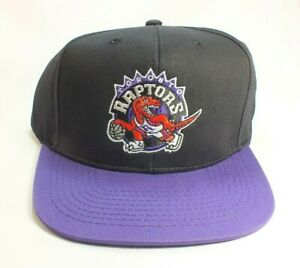 Toronto Raptors NBA 2-Tone Throwback Retro Snapback Hat Cap by Adidas NWT
