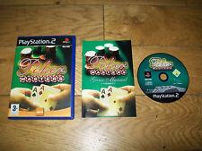 JEU PS2 PS3-POKER Masters-Complet boîtier notice
