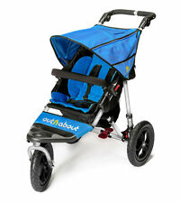 Brand new in box Out n About nipper single 360  V4 pushchair lagoon blue and pvc