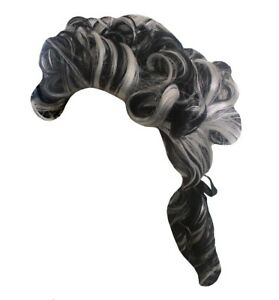 Marquis Founding Father Wig Noble Historical Pony Tail Hair Halloween Accessory