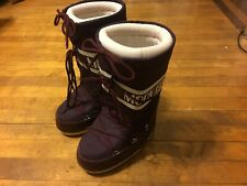 Tecnica Maroon Moon Boots Apres Snow Boots Ladies 35-38 6 Euro made in Ukraine