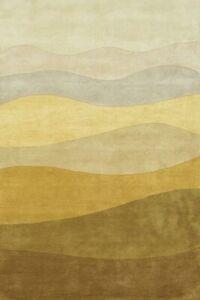 Walvia Modern Hand-Tufted 100% Wool Soft Area Rug Carpet.