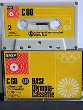 BASF LH Olympia-Cassette C 60 1971-1973  Sehr Selten Kassette Tape  MC (2*)