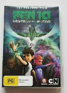 Ben 10: Destroy All Aliens -   Kids PAL DVD R4 VGC