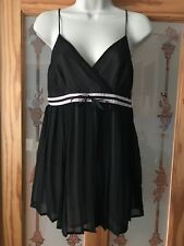 OASIS Black Camisole Top Size 12 BNWT