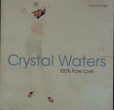 Crystal Waters: 100% Pure Love  DVD   LIKE NEW  DB1107