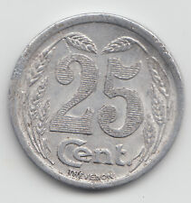 WWI France Monnaie de necessite jeton token - Evreux 1921 - 25 Centimes 20