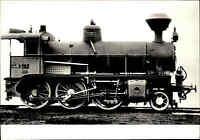 Eisenbahn Motiv-Postkarte CSSR Dampf-Lok Personenzug Lokomotive Lok CSD Railway