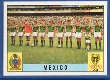 FIGURINA CALCIATORI PANINI MEXICO 70 - RECUPERO - TEAM - MEXICO