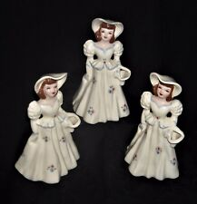 Trio of Vintage Florence Ceramics BEE Flower Holders EX Condition, One Fancy