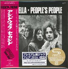 ANDWELLA-PEOPLE'S PEOPLE-JAPAN MINI LP SHM-CD Ltd/Ed G00