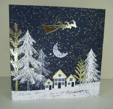 Pack of 8 Over The Rooftops Charity Christmas Cards