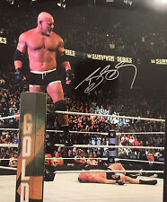 Bill Goldberg signed autographed 8x10 Photo Brock Lesnar WWE