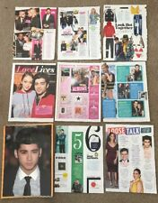 RARE Zayn Malik Posters & Articles! One Direction Louis Tomlinson Liam Payne