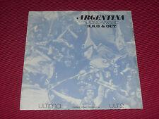 "East-West:  Argentina  Very rare 1978 private pressed Punk/Funk/DIY  EX+  7"""
