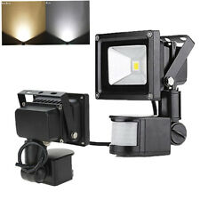 10W LED Flood Light PIR Motion Sensor Building Spotlight Landscape 12V Park Yard