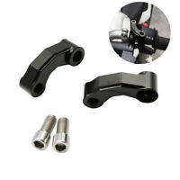 CNC Motorcycle Mirror Riser Extension Adapter Mounting Bracket For BMW R1200GS