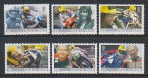 Isle of Man - 2001, Joey Dunlop, Motorcycle set - MNH - SG 936/41