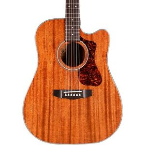 Guild D-120CE Westerly Collection Dreadnought Acoustic-Electric Guitar Natural