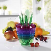 GOURMETmaxx Obst-Profi Multi-Set zur Fruchtzubereitung Zubereitungs-Set 14-tlg.