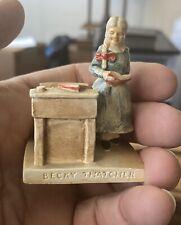 1948 Sebastian Miniature Mark  00006000 Twain Tom Sawyer Becky Thatcher standing at desk