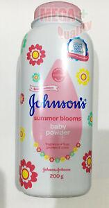 200g Johnson Summer Blooms Baby Powder Lilie Jasmine Rose