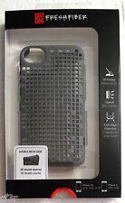 for iPhone 4/4s FreshFiber Double Mesh Grey Nylon Case w/3-D Linear Pattern