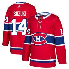 #14 Nick Suzuki Jersey Montreal Canadiens Home Adidas Authentic