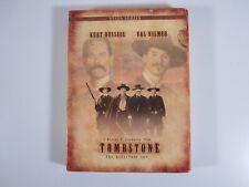 Tombstone DVD, 2002, 2-Disc Set, Vista Series Directors Cut **C11**