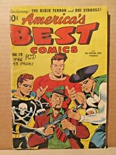 America's Best Comics 19 CLASSIC ALEX SCHOMBURG C 1946 Black Terror, Doc Strange