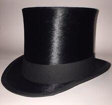 Vintage J W Bennett  Silk Top Hat 55cm (UK Size 6 3/4+)
