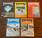 Vintage Thrasher Skateboard Magazines FIRST 5 ISSUES, Large Format