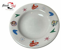 "Vintage Campbells Diner 9"" Soup / Salad / Breakfast Bowl Great Classic Graphics"