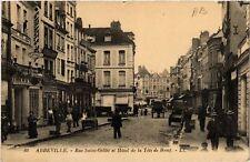 CPA  Abbeville - Rue Saint-Gilles et Hotel de la Téte de Boeuf  (515159)