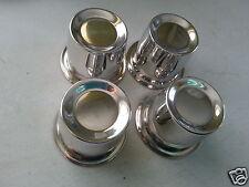 """Cobra Supaslot Mags Wheel Centre Caps x 4 - 76mm - 14"""" Wheels"""