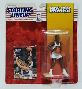 LAPHONSO ELLIS Denver Nuggets Kenner SLU NBA Starting Lineup 1994 Figure & Card