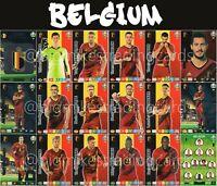 PANINI ADRENALYN XL UEFA EURO 2020 BELGIUM FULL 18 CARD TEAM SET - EUROS