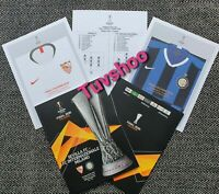 Inter v Sevilla UEFA Europa League Final 2020 Official Programme with Teamsheet!